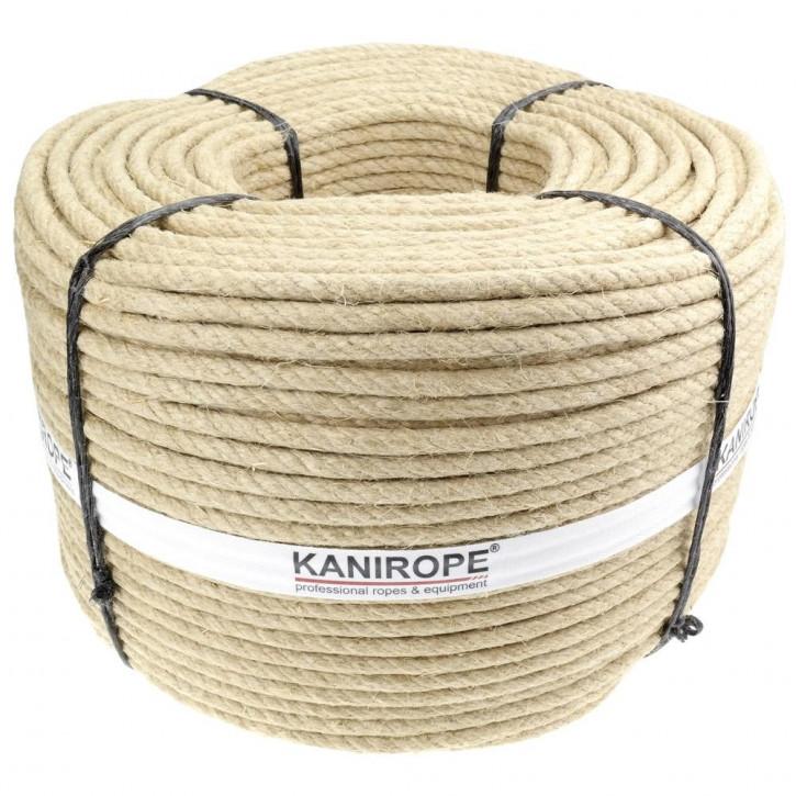 Cordage en chanvre HEMPTWIST ø5mm 3 torons de Kanirope®
