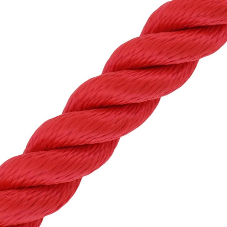Main courante MULTITWIST ø28mm Marchandise au mètre (mètre par pièce) rouge de Kanirope®