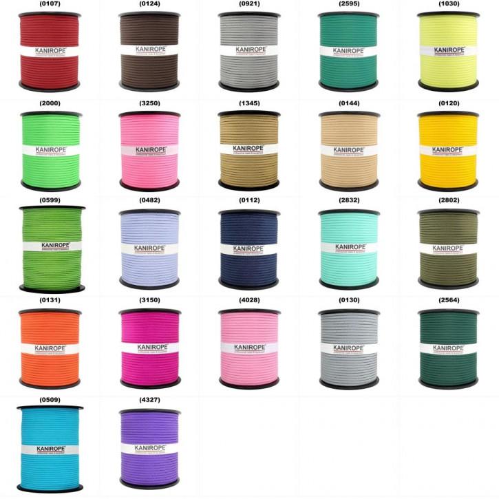 Cordage en PP MULTIBRAID ø3mm autres couleurs 16x tressé